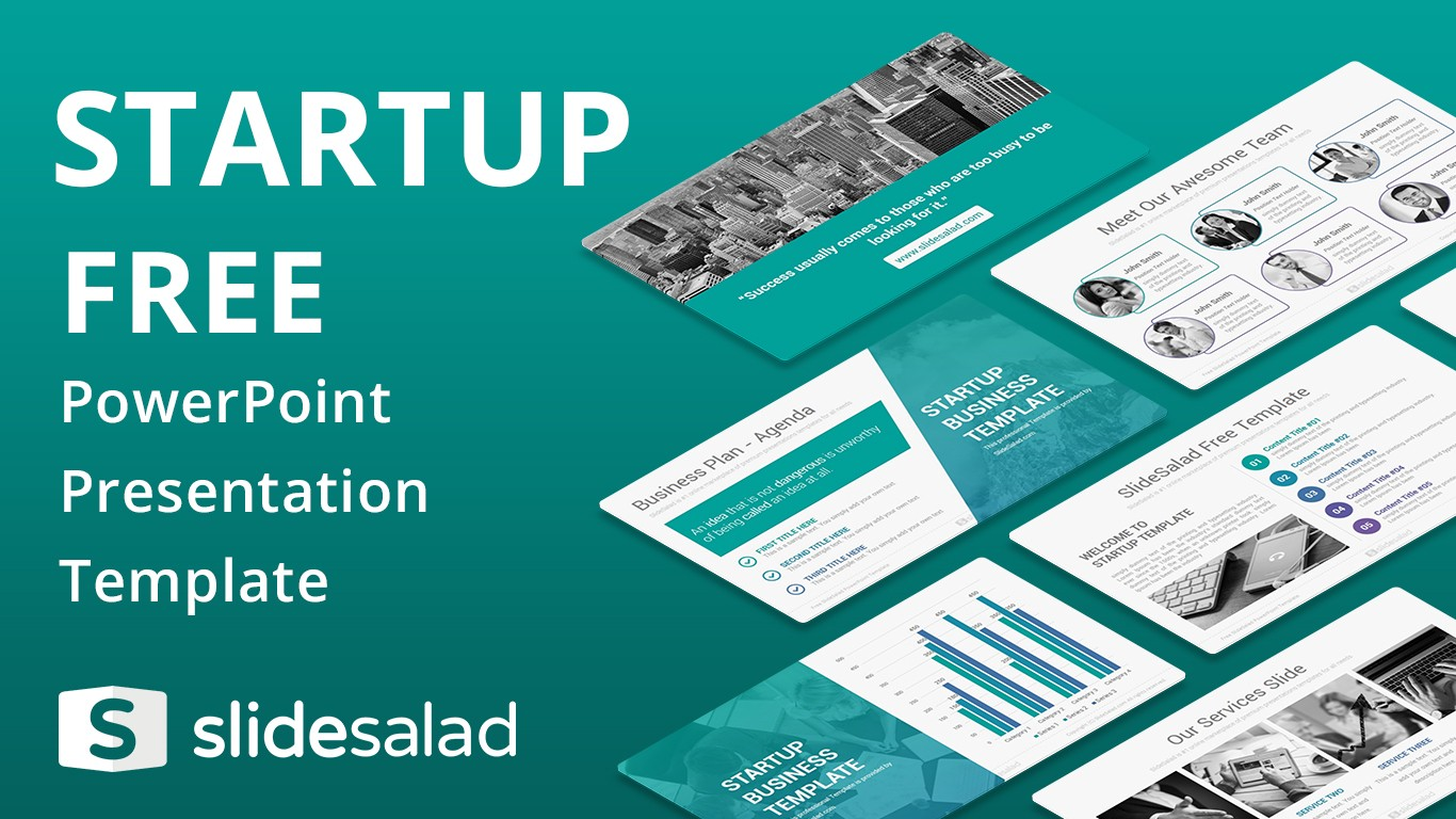 Best free powerpoint templates and google slides themes from slidesalad startup free download powerpoint presentation template friedricerecipe Choice Image