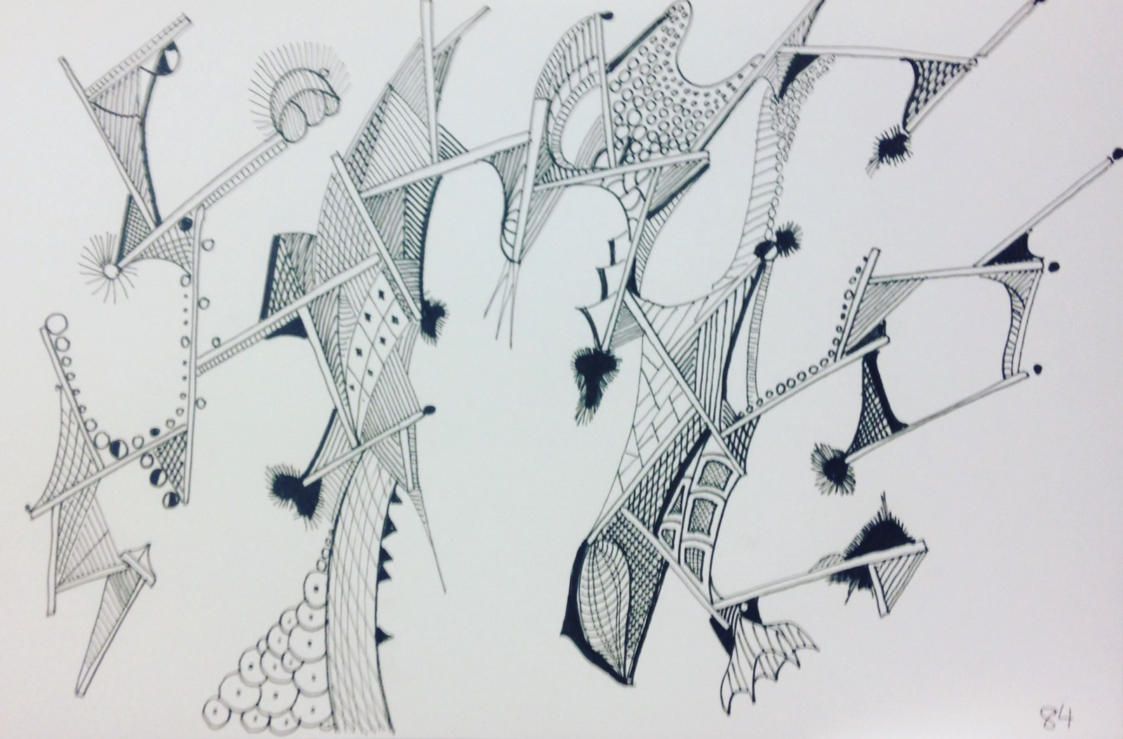 Line Drawing In Art : The visual elements line