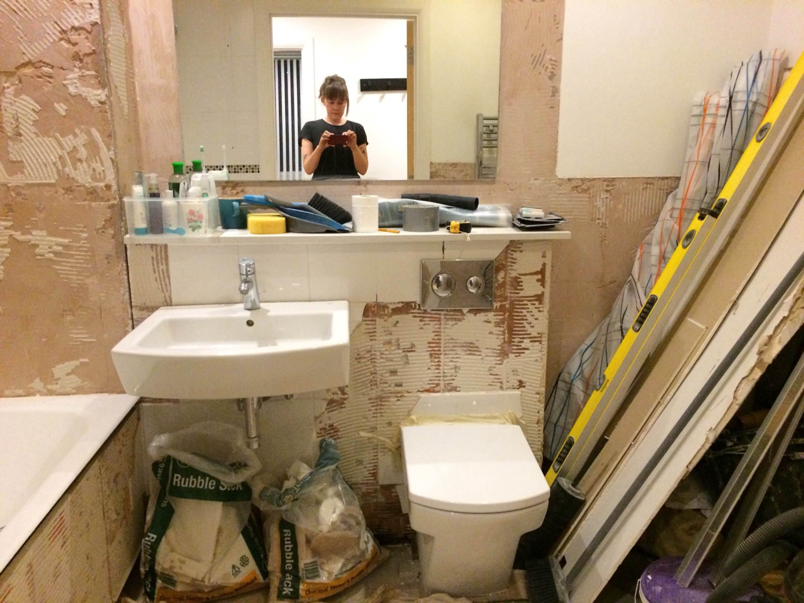 How to fix a leak in your new bathroom the billfold medium for New bathroom