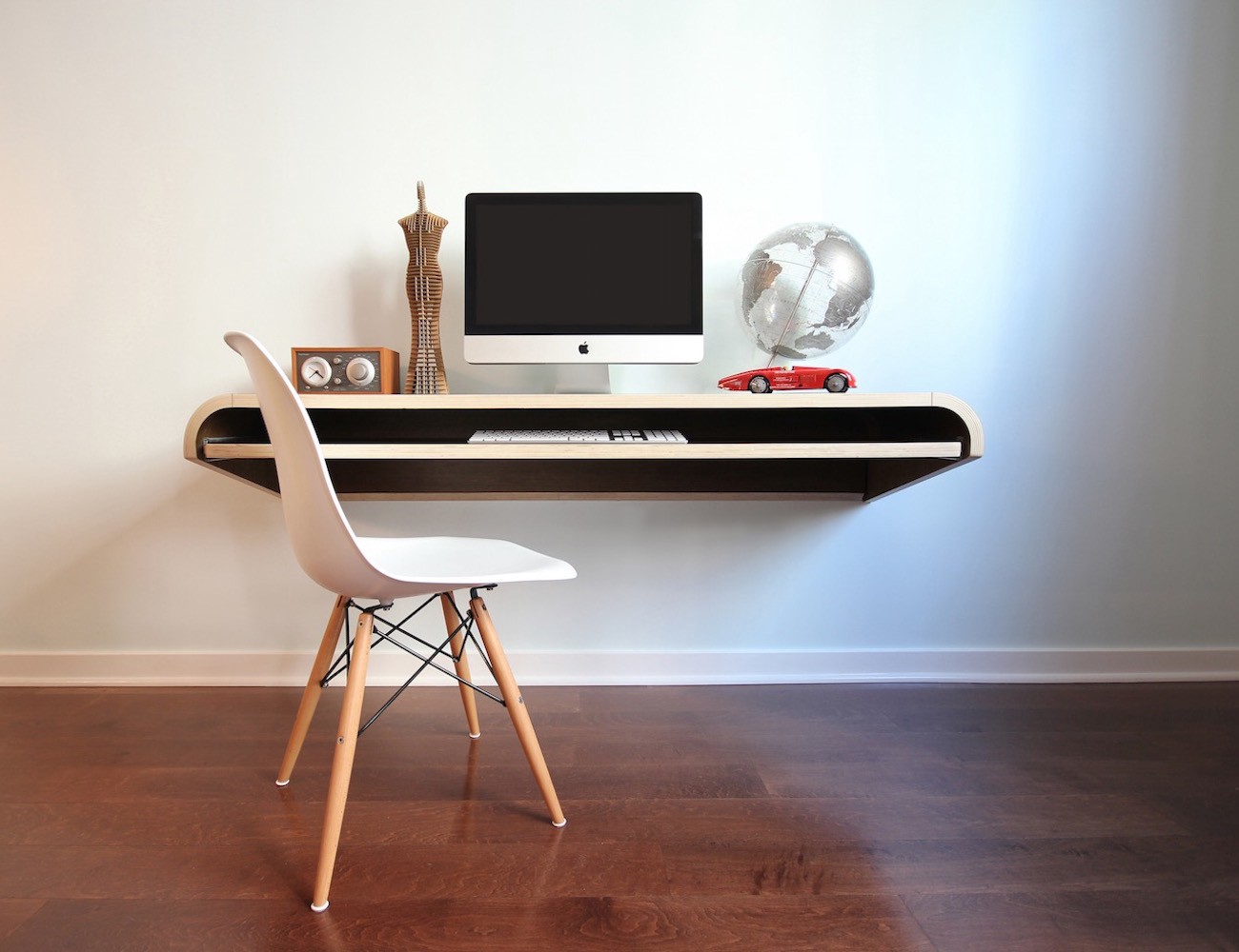This Wall Desk Is Easy To Install And Comes In Two Different Sizes And Five  Colors To Choose From. You Can Either Choose To Use It As A Laptop Station,  ...