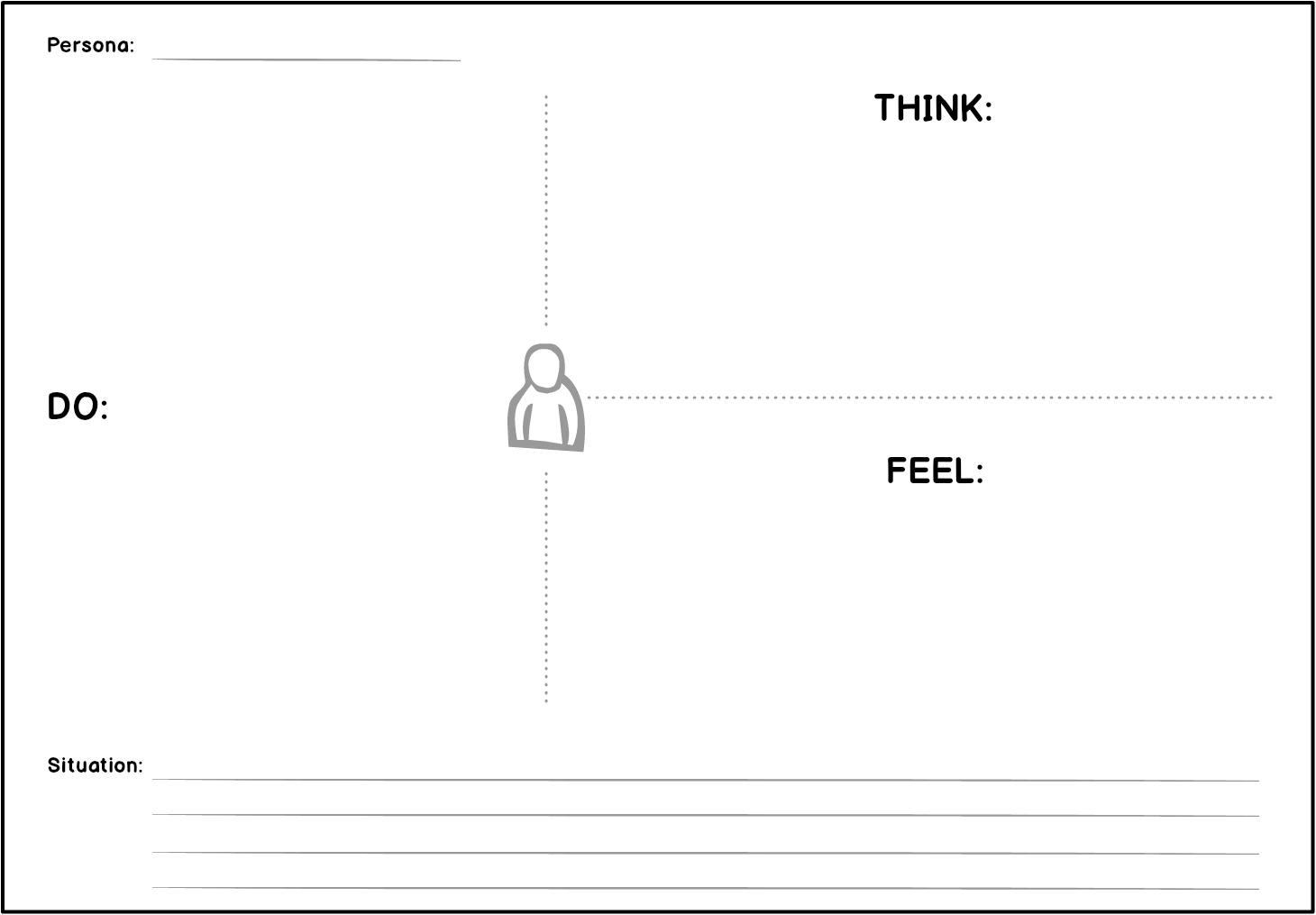 How do we empathize with our users as a team uxdesign empathy mapping template pronofoot35fo Choice Image