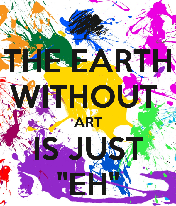 Image result for the earth without art
