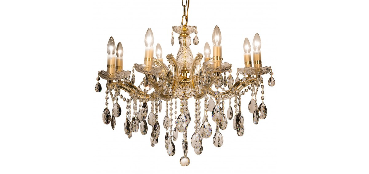 So Big Size Chandeliers Of Crystal It Is Better Not To Employ They Only Will Results Into An Imbalance But The Ceiling Are