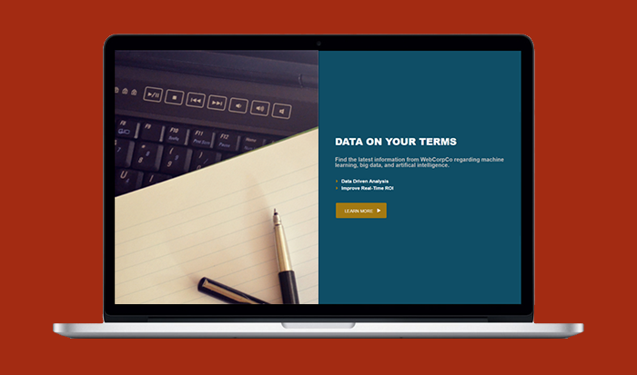 Adding a Full Width Sectional to your Website