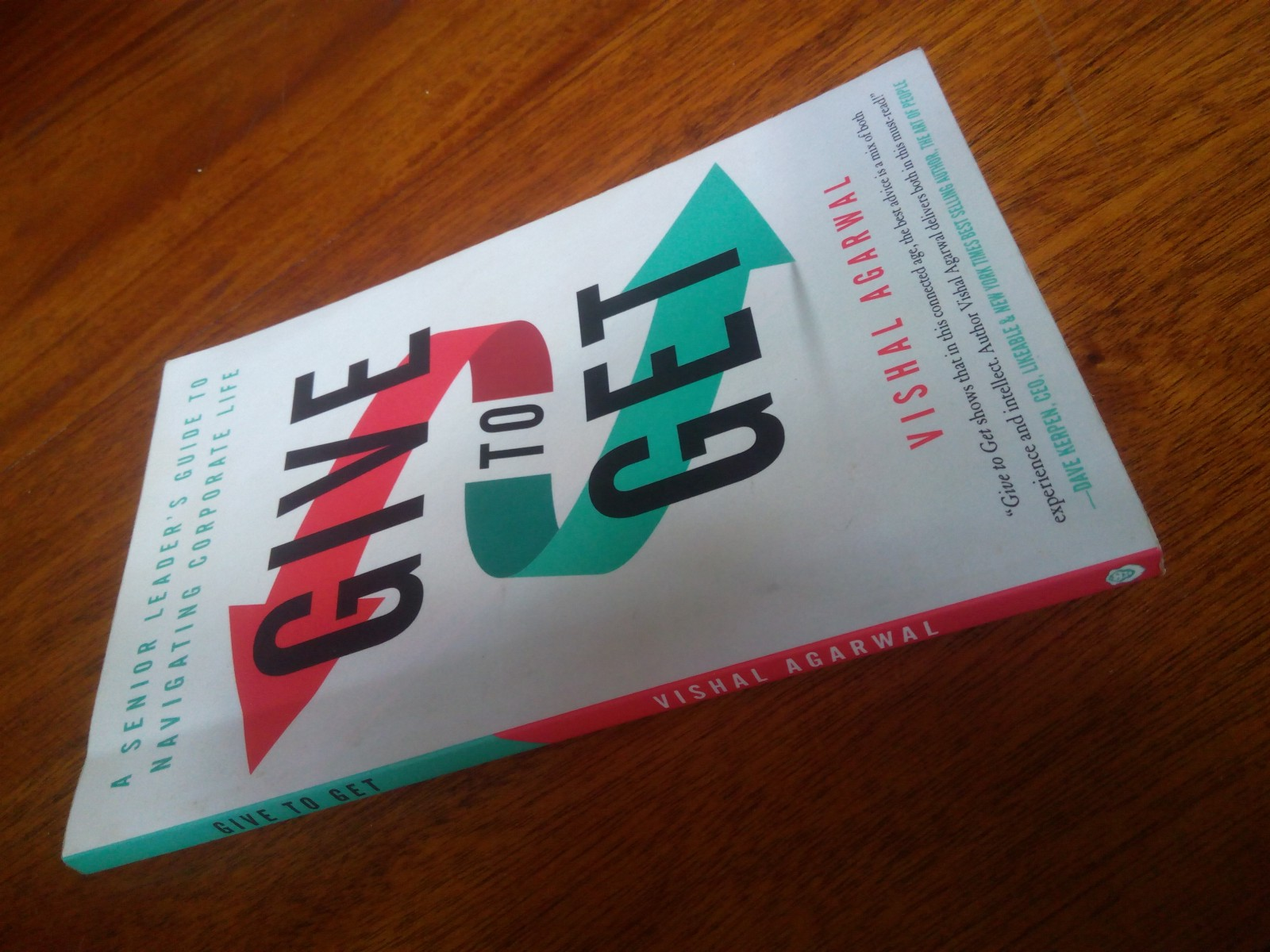 give to get a senior leaders guide to navigating corporate life