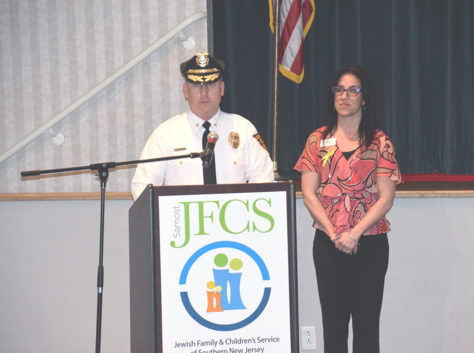jfcs and cherry hill police team up to get community talking about