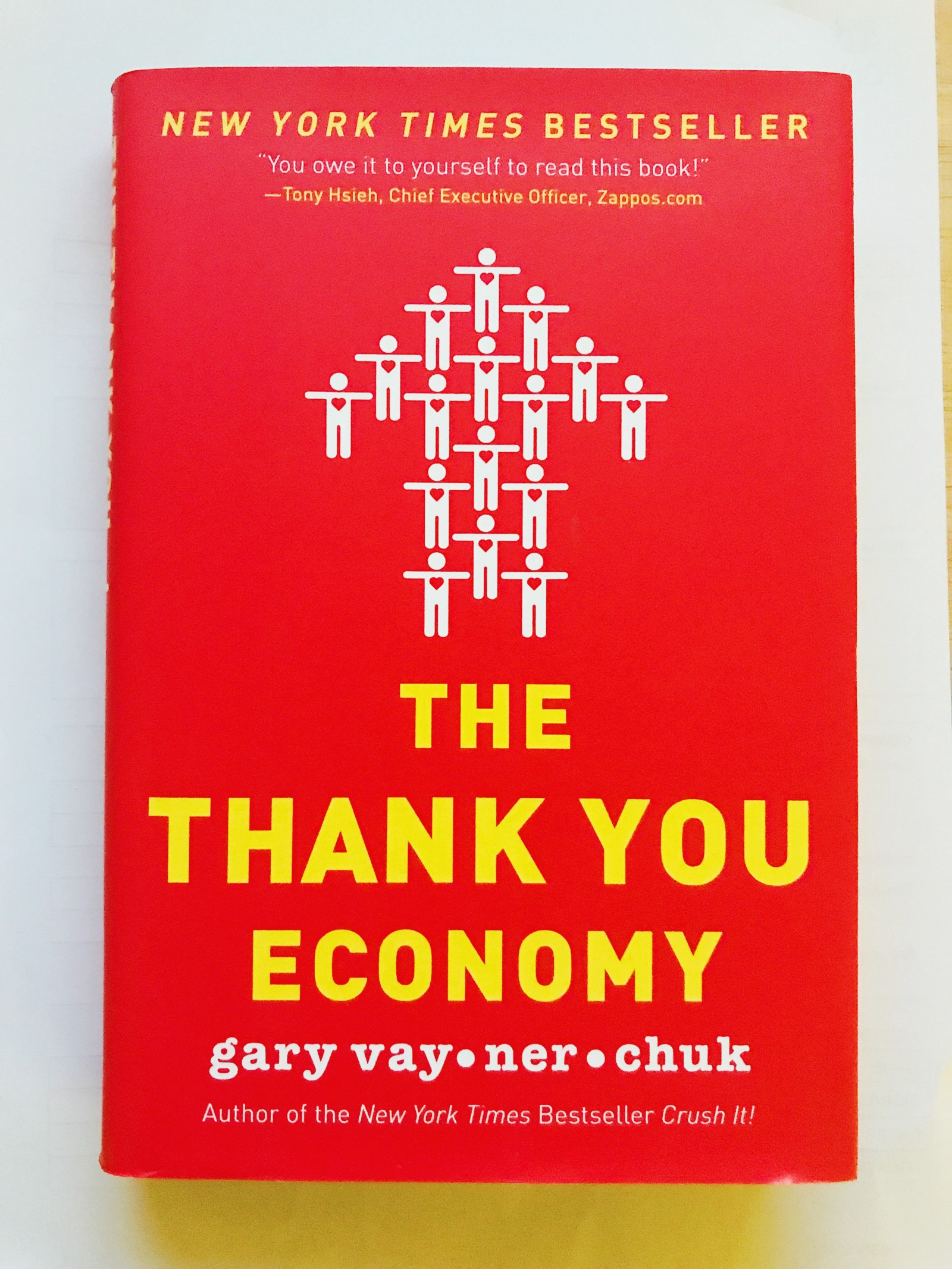 One minute book review the thank you economy by gary vaynerchuck solutioingenieria Gallery