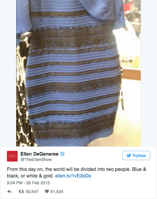 Viral dress pictures