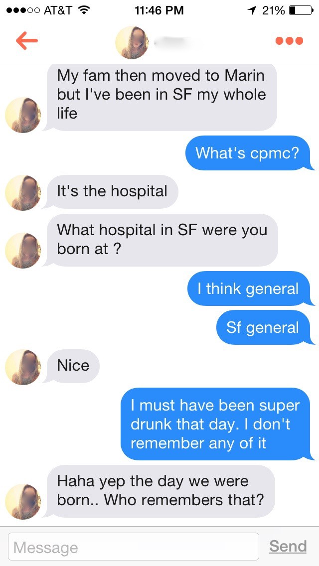 witty things to say on tinder