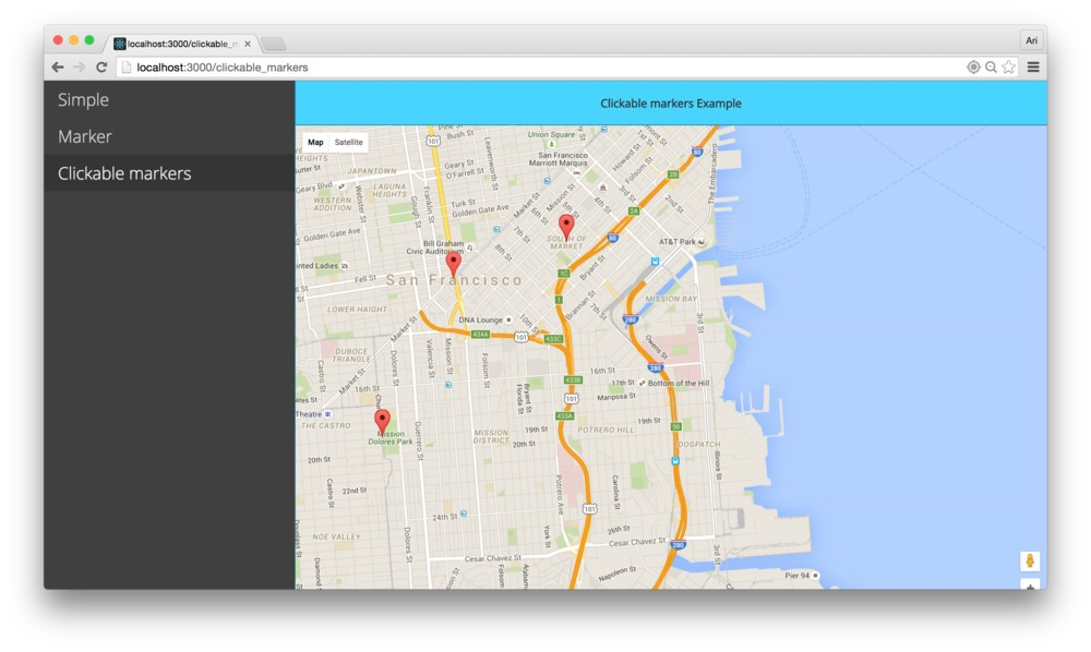 Writing a google maps react component mohamed elashry medium in this article well look at how we to connect the google api and build a google maps component gumiabroncs