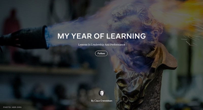 My Year of Learning: Lessons in Leadership and Performance