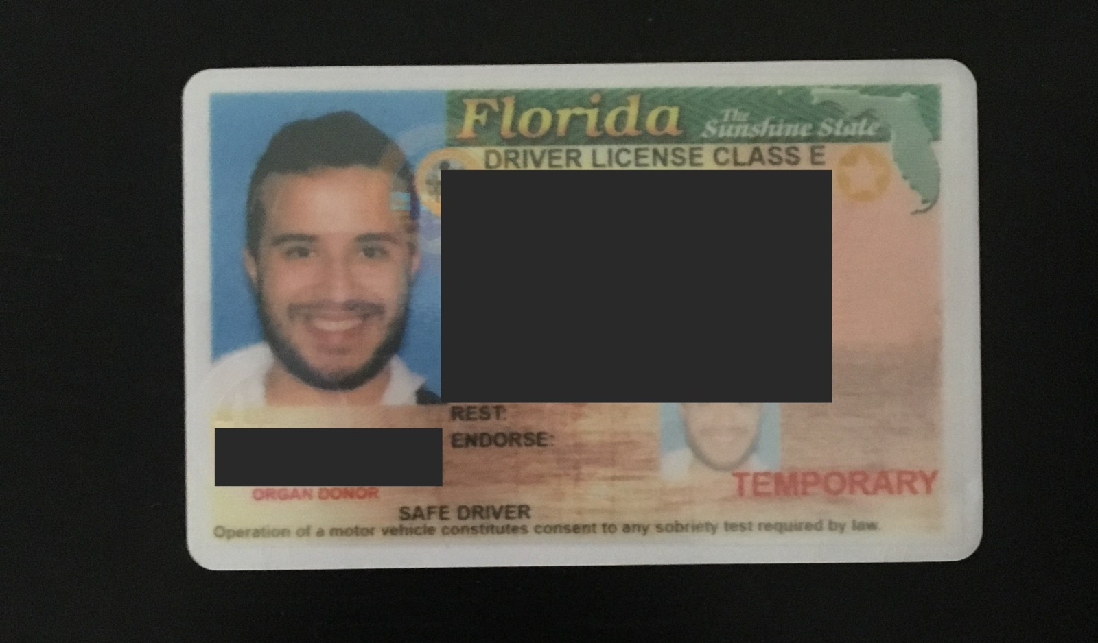 Traveling as an undocumented immigrant juansaaa for Fl dept of motor vehicles license check