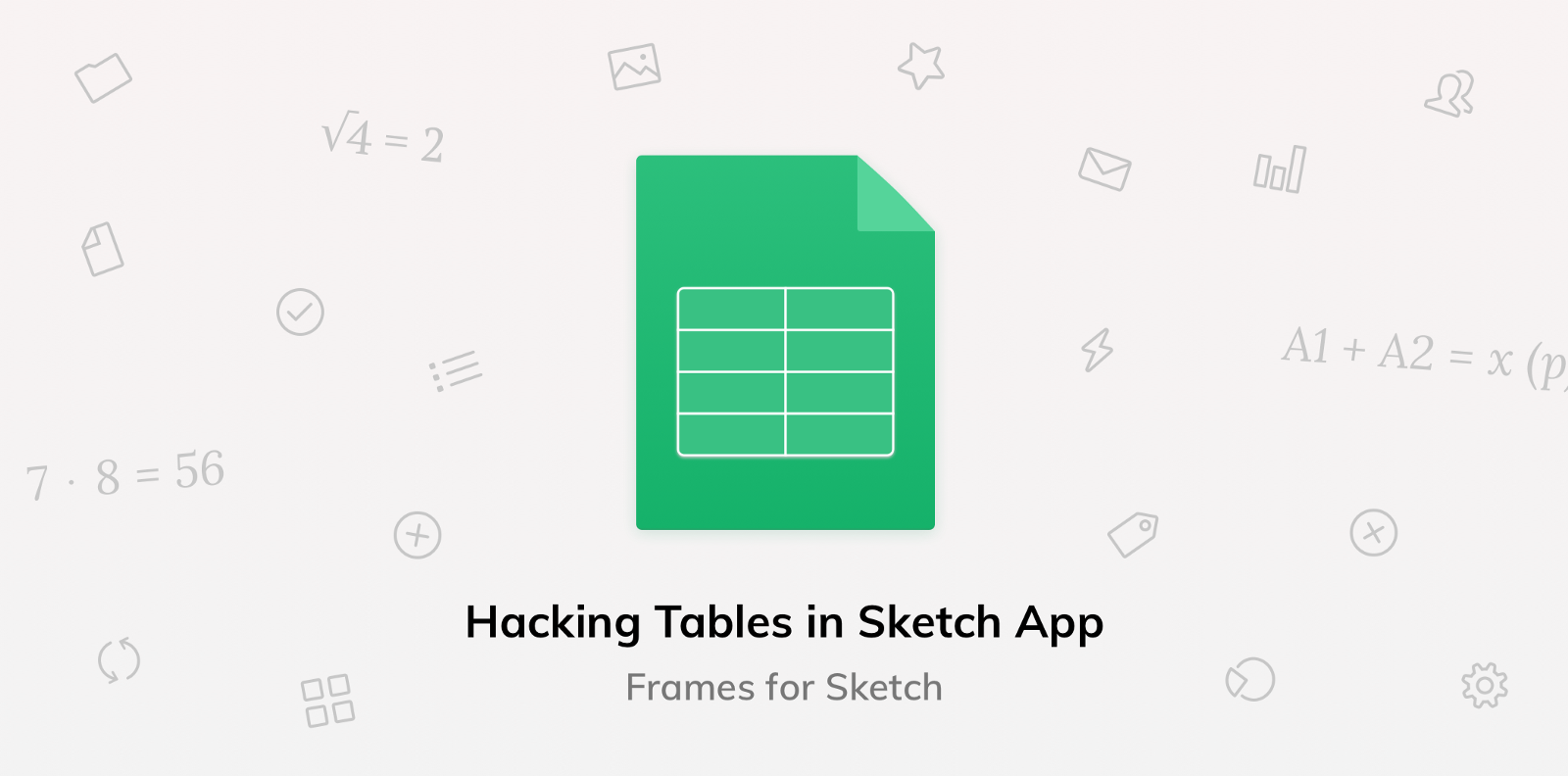 Hacking Tables In Sketch App Design Sketch Medium