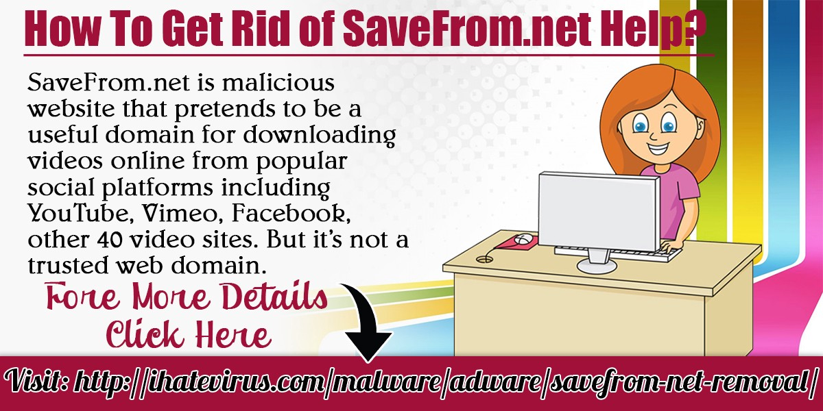 How to get rid of savefrom removal from your personal computer click here for more details httpihatevirusmalwareadware savefrom net removal stopboris Choice Image