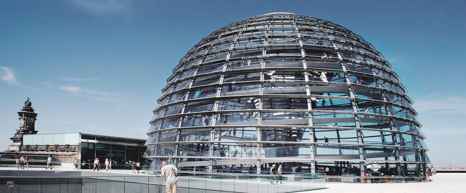 The Reichstag In Berlin A Modern Parliament In A