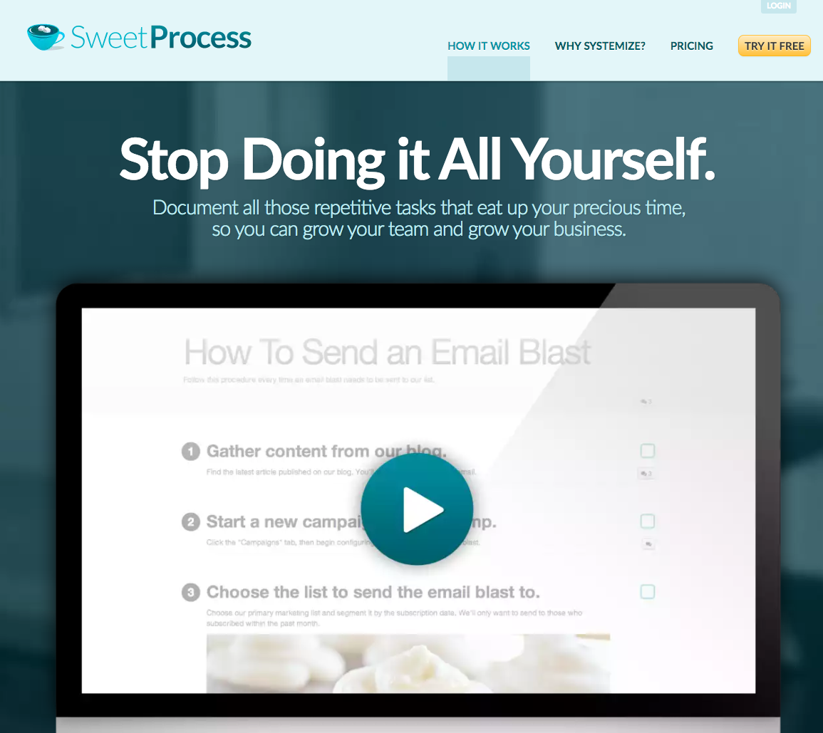 100 Define Systemize Sweetprocess Document Your