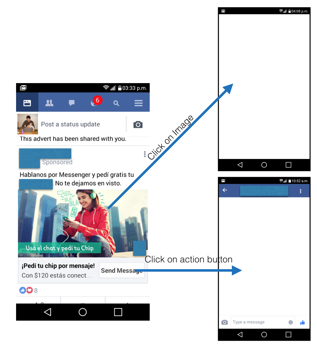 how to send attachment to messenger