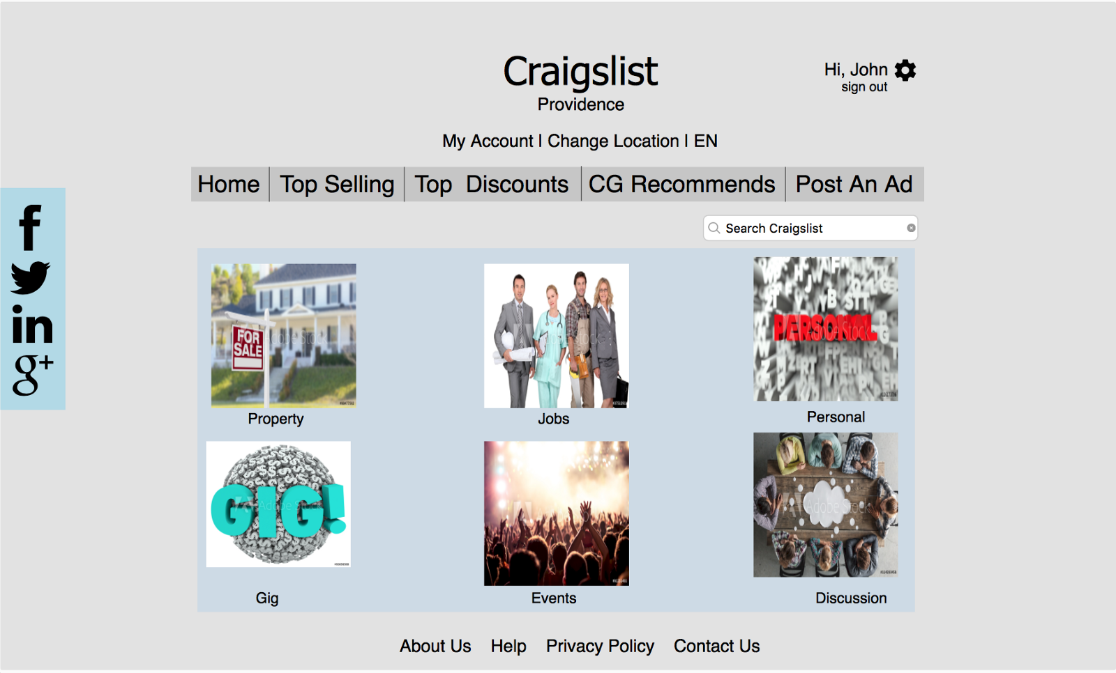 Craigslist, it's time you got a new look! – Sumukha Tumkur