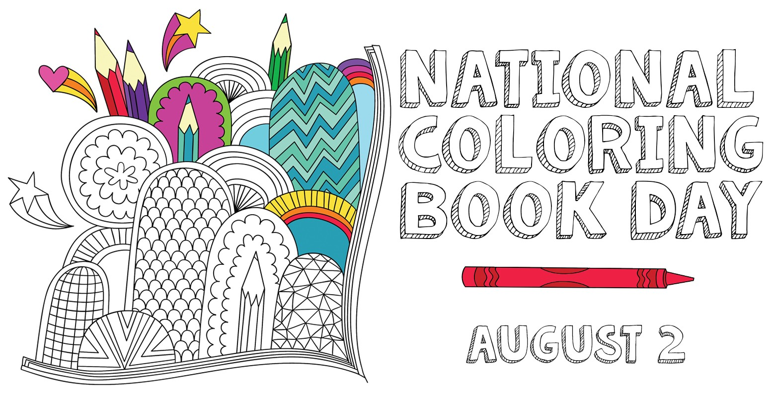 Here comes national coloring book day