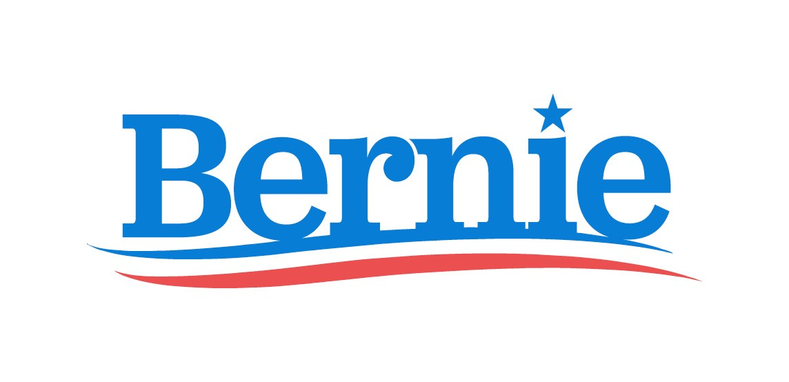 bernie sanders for president logo. contrast that with the identity of bernie sanders\u0027 campaign. campaign was developed by wide eye creative, lead ben ostrower as sanders for president logo f