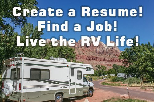Match Your Skills to Work Camper Jobs and Dedicated CMM Software by CampgroundMaintenanceManager.com