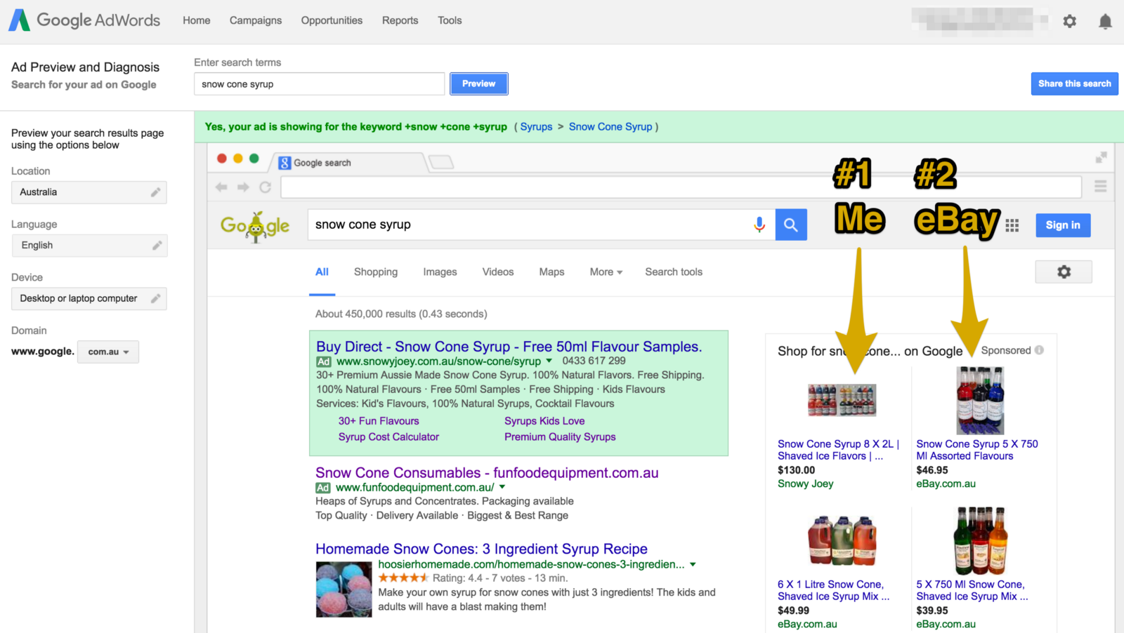 How We Outcompete Ebay On Google Adwords Without A Big Ad Budget