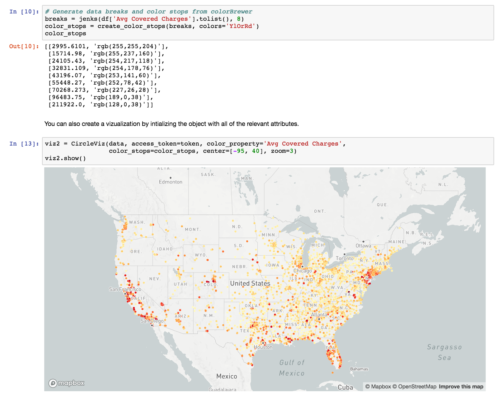 Reactive python javascript communication in jupyter notebook this is the state of mapboxgl embedding today with the mapboxgl jupyter library gumiabroncs Choice Image