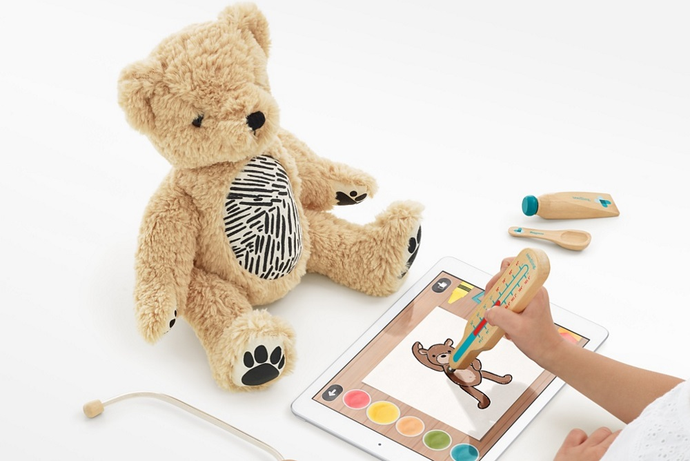 d5988494d1ca Startup technology company Seedling wants to make it easier for children to  get involved with augmented reality with the world s first AR teddy bear  called ...