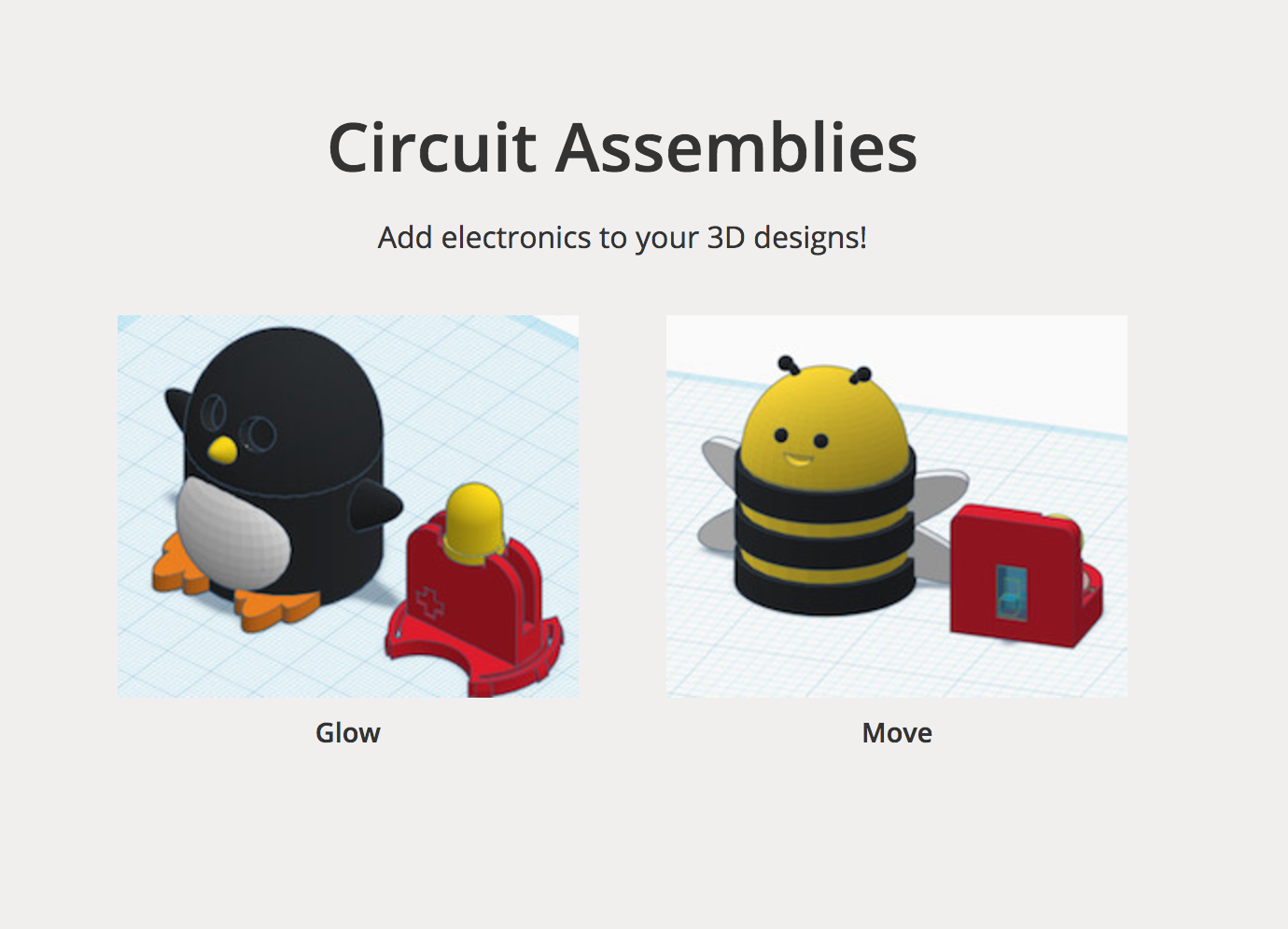 Designing Interactive 3d Printed Things With Tinkercad Circuit Vs Parallel For Kids Using The Above As An Assembly Lessons At Https Tinkercadcom Learn