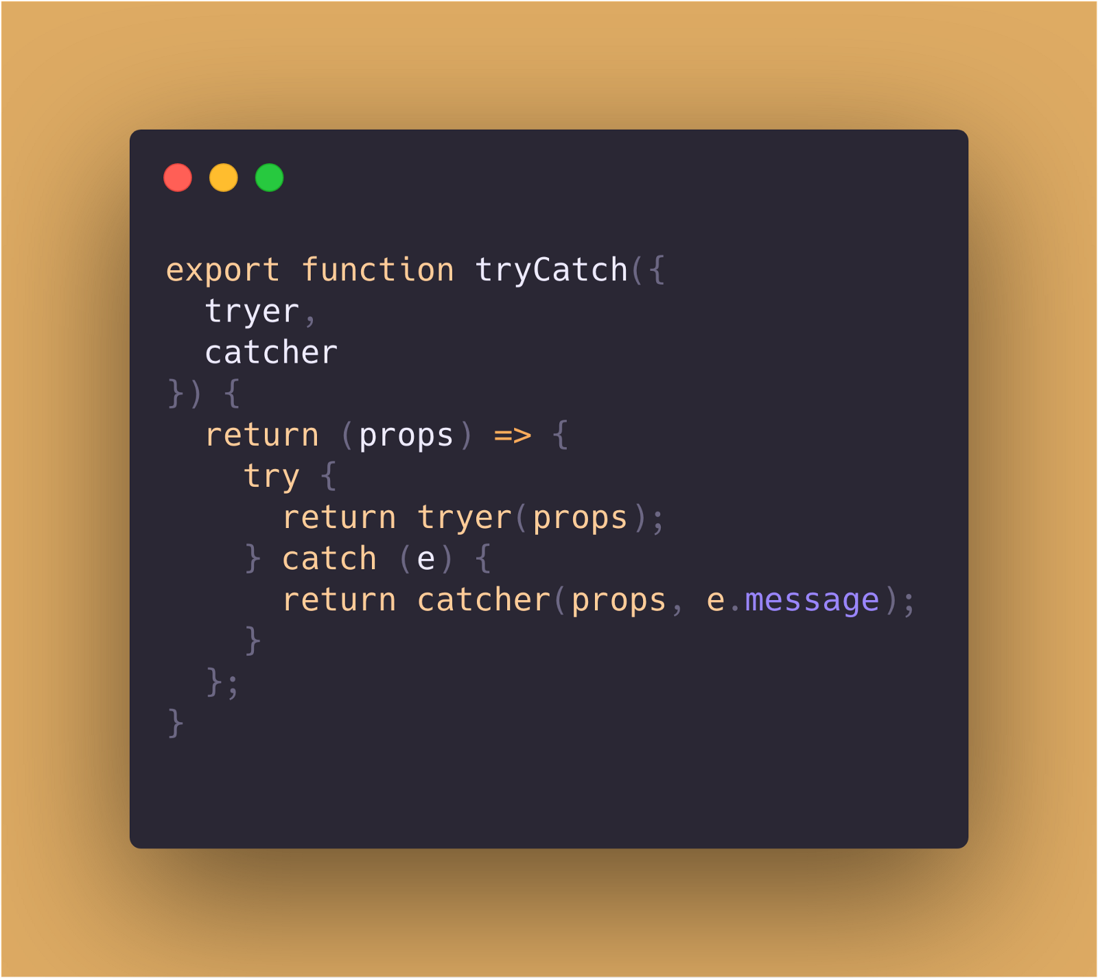 If-else and try-catch as functional constructs