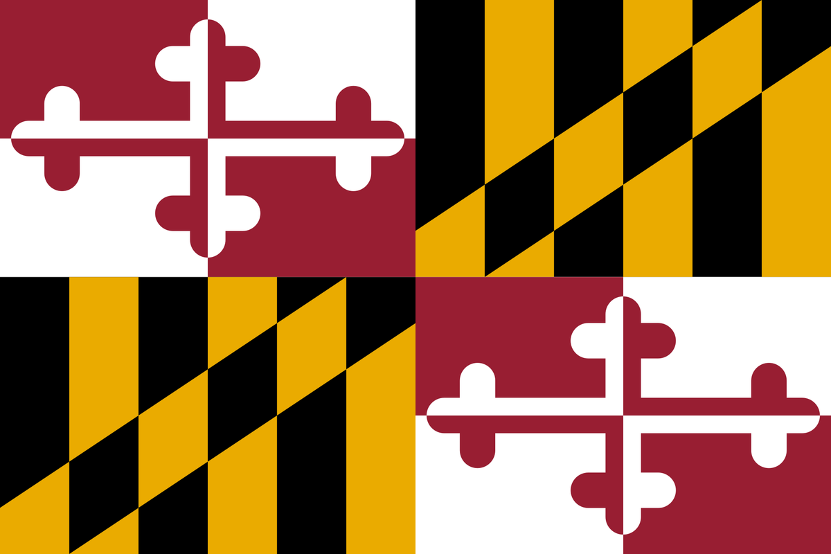 the confederate roots of the maryland flag extra newsfeed rh extranewsfeed com maryland flag vector free download waving maryland flag vector