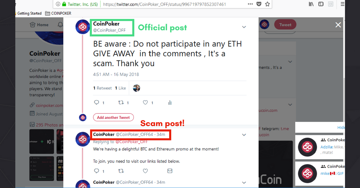 Don't fall for these crypto scams #1