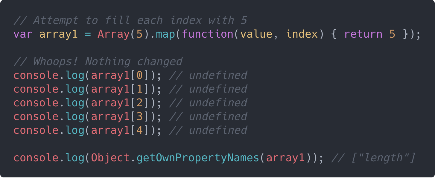 array reduce in javascript