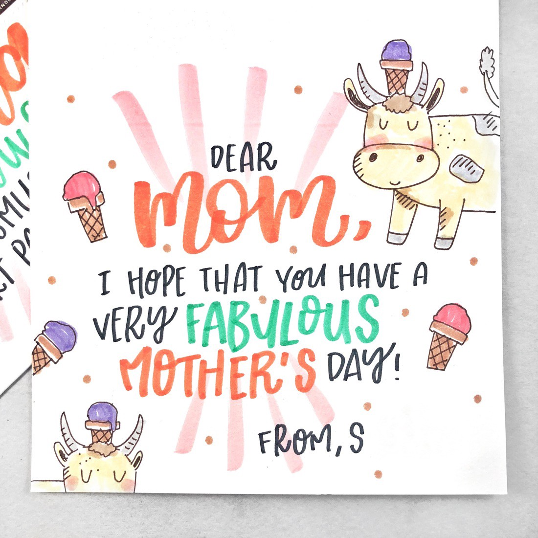 What To Write In Your Mother's Day Card