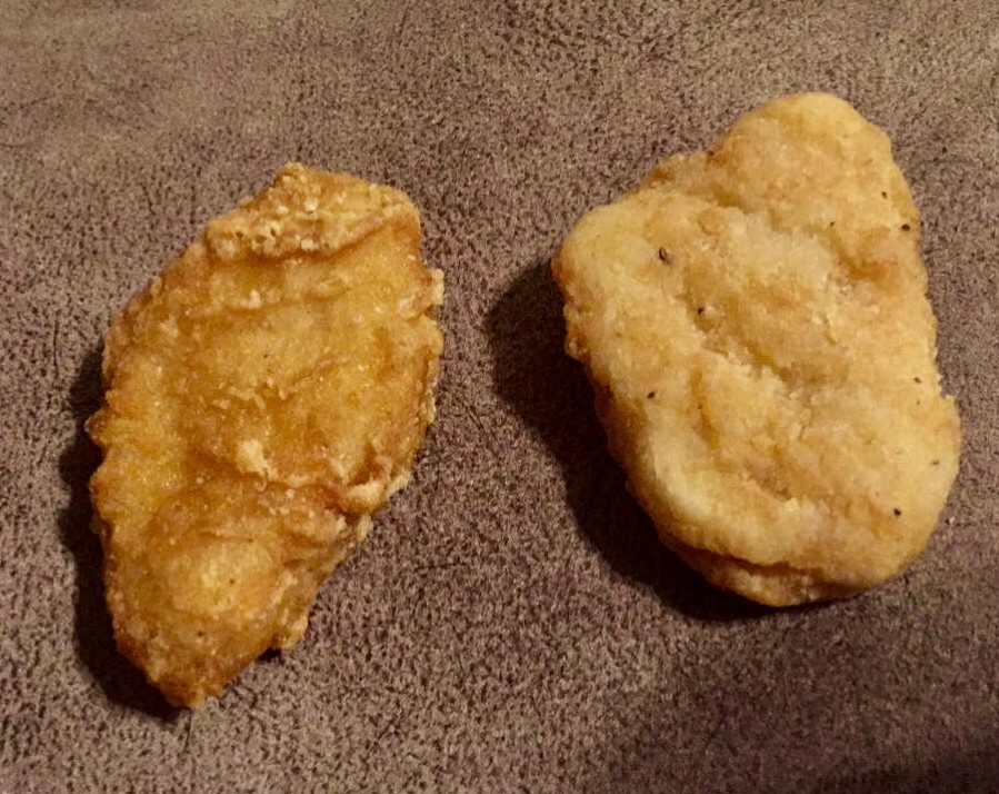 A Head To Head Burger King Chicken Nuggets Vs The Mcnugget