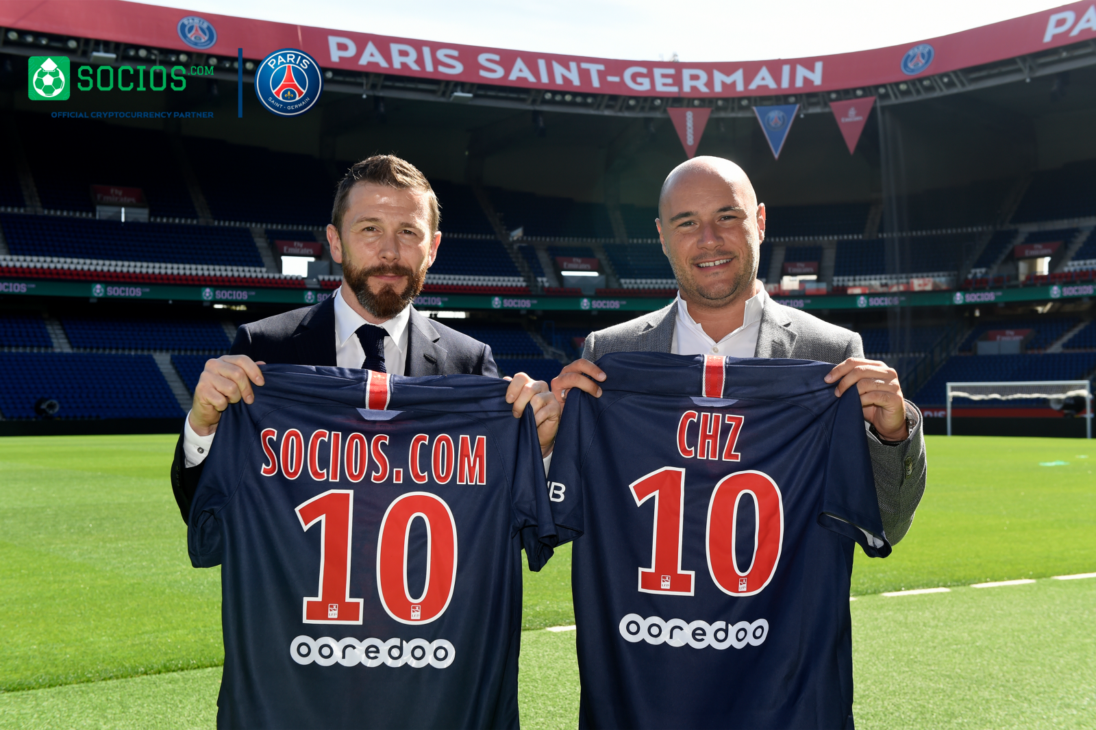 891d49fce372d PARIS SAINT GERMAIN KICKS OFF INNOVATIVE BLOCKCHAIN PARTNERSHIP WITH  SOCIOS.COM