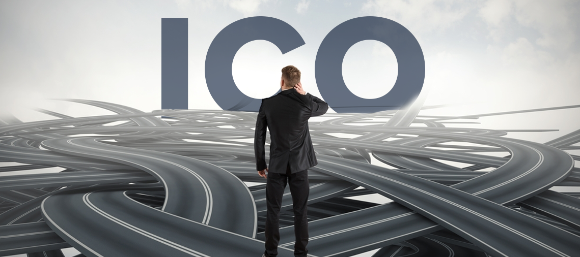 The procedure for holding ICO project and the main risks