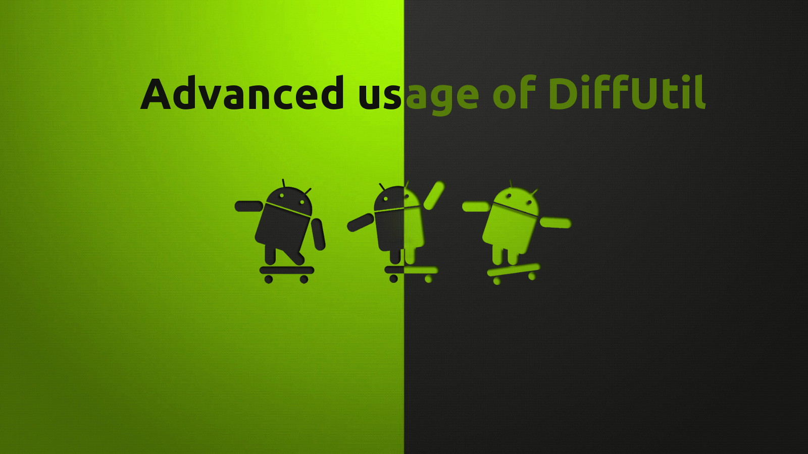 Advanced Usage Of Diffutil With Kotlin And Rxjava2 Proandroiddev
