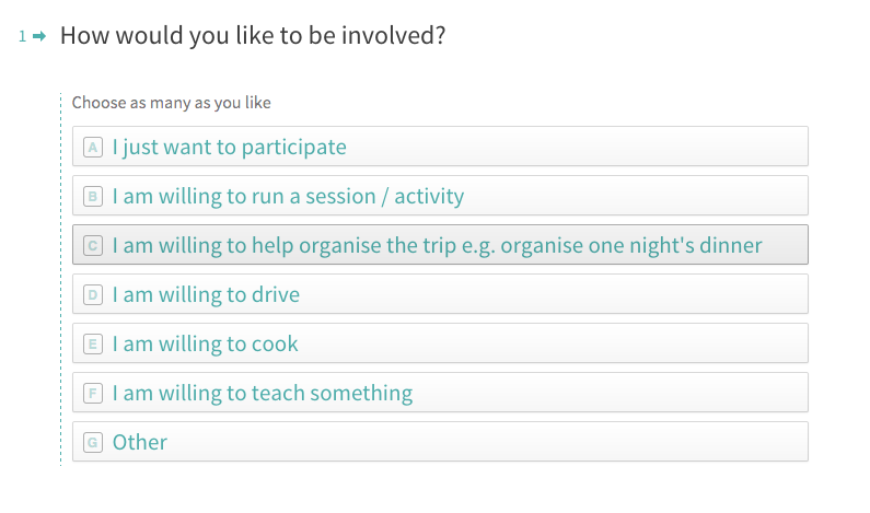 Eight tips on running a great team offsite ideo stories medium survey our office manager created to find out who was willing to help organise our next offsite pronofoot35fo Images