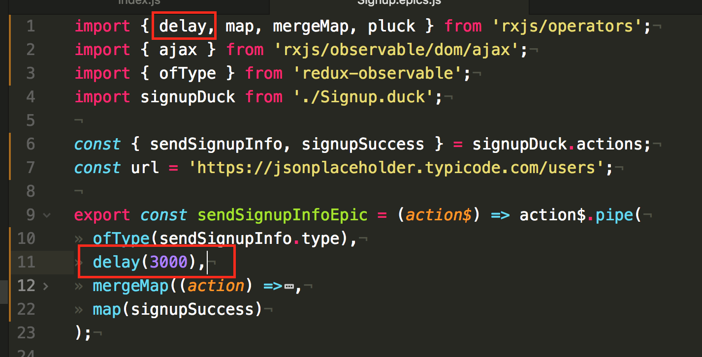 Purely Functional React Signup with Redux-Observable
