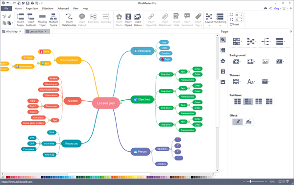 edrawsoft levert nieuwe mind mapping software � mindmapping