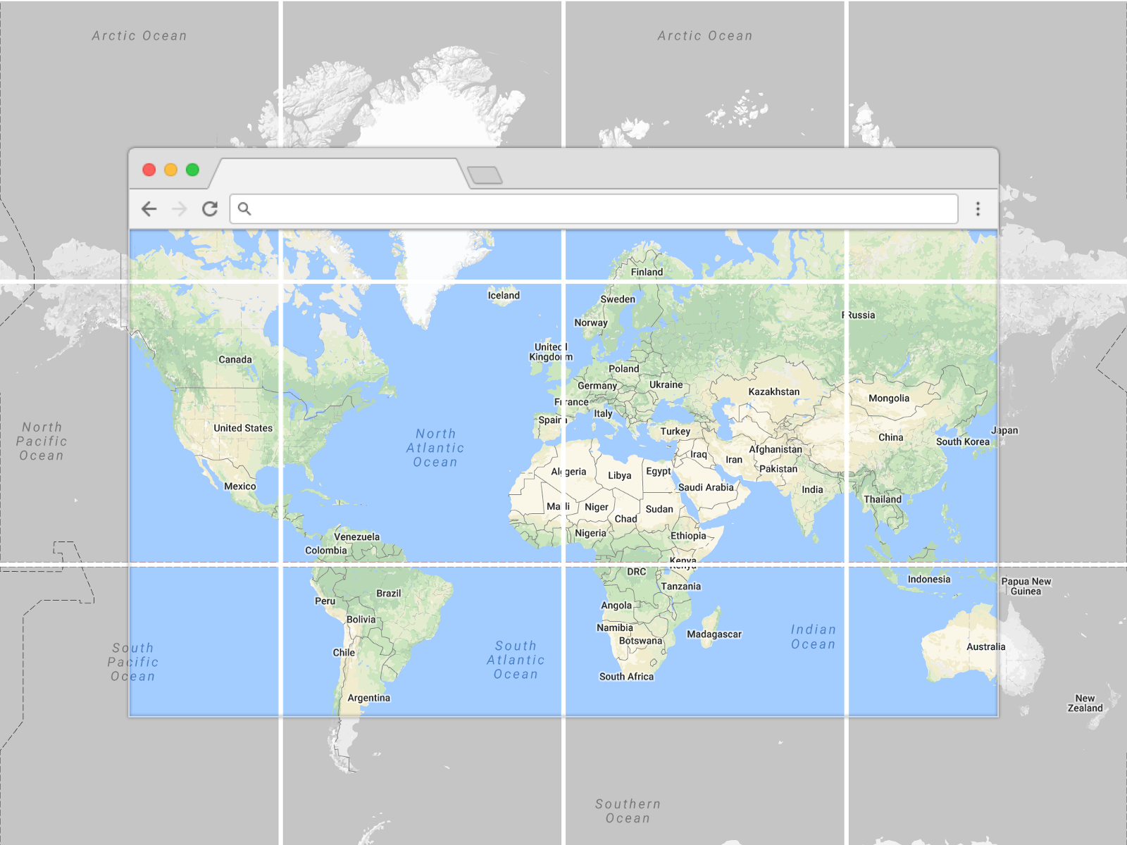 Google Images Map Of Australia.Prototyping A Smoother Map Google Design Medium