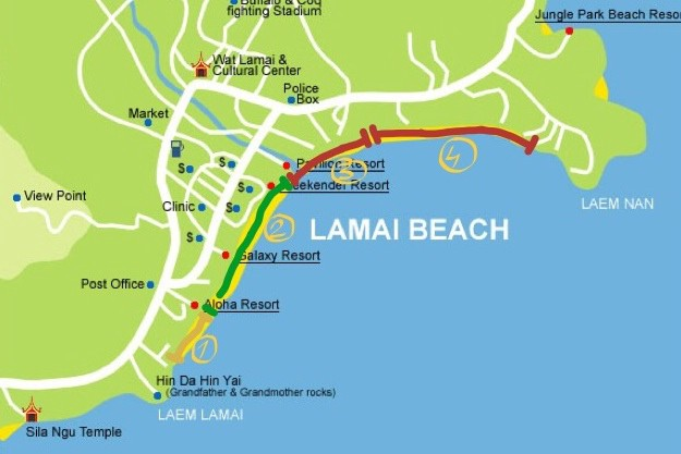 After Exploring The Whole Lamai Beach Line In Past Days Mid June 2017 Let Me Leave Some Recommendations For Those Who Are Traveling To Koh Samui