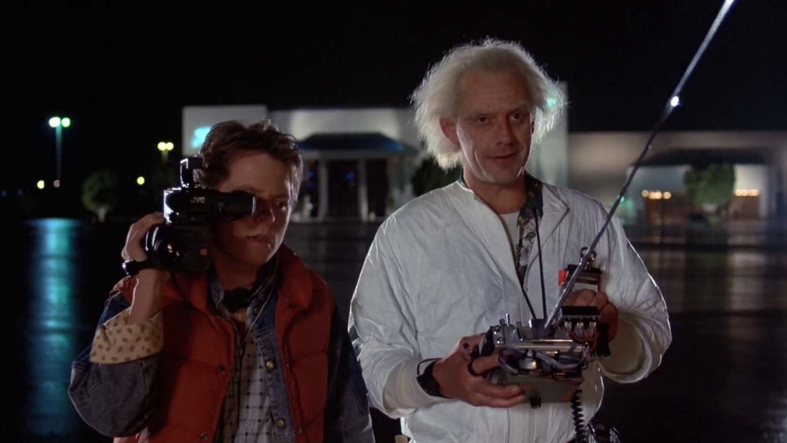 Back to the Future, Time Travel, and the Secret History of the 1980s
