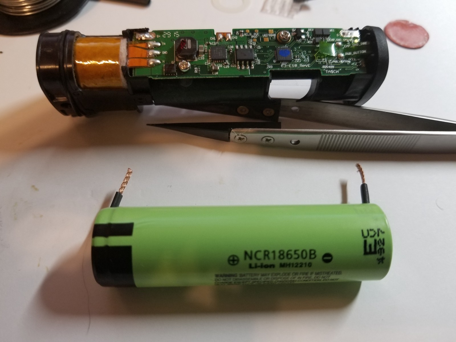 Pax 2 Battery Replacement Guide Philip Haasnoot Medium Back Gt Imgs For Dry Cell Diagram Replace The Red Insulating Stickers And Get Ready To Put Your Together