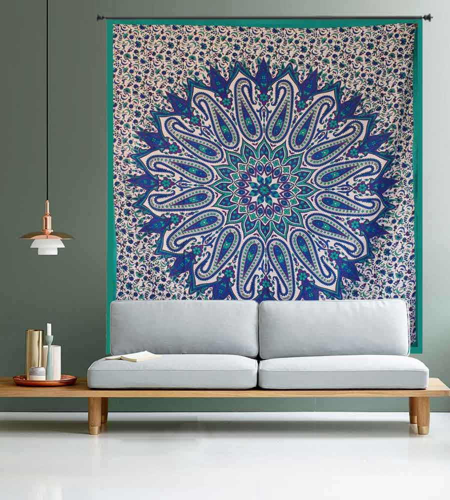 Wall Tapestries Are The Perfect Art To Decorate Your Home But It Varies In  Different Styles And Budget As Well. They Available In Many Handicraft ...