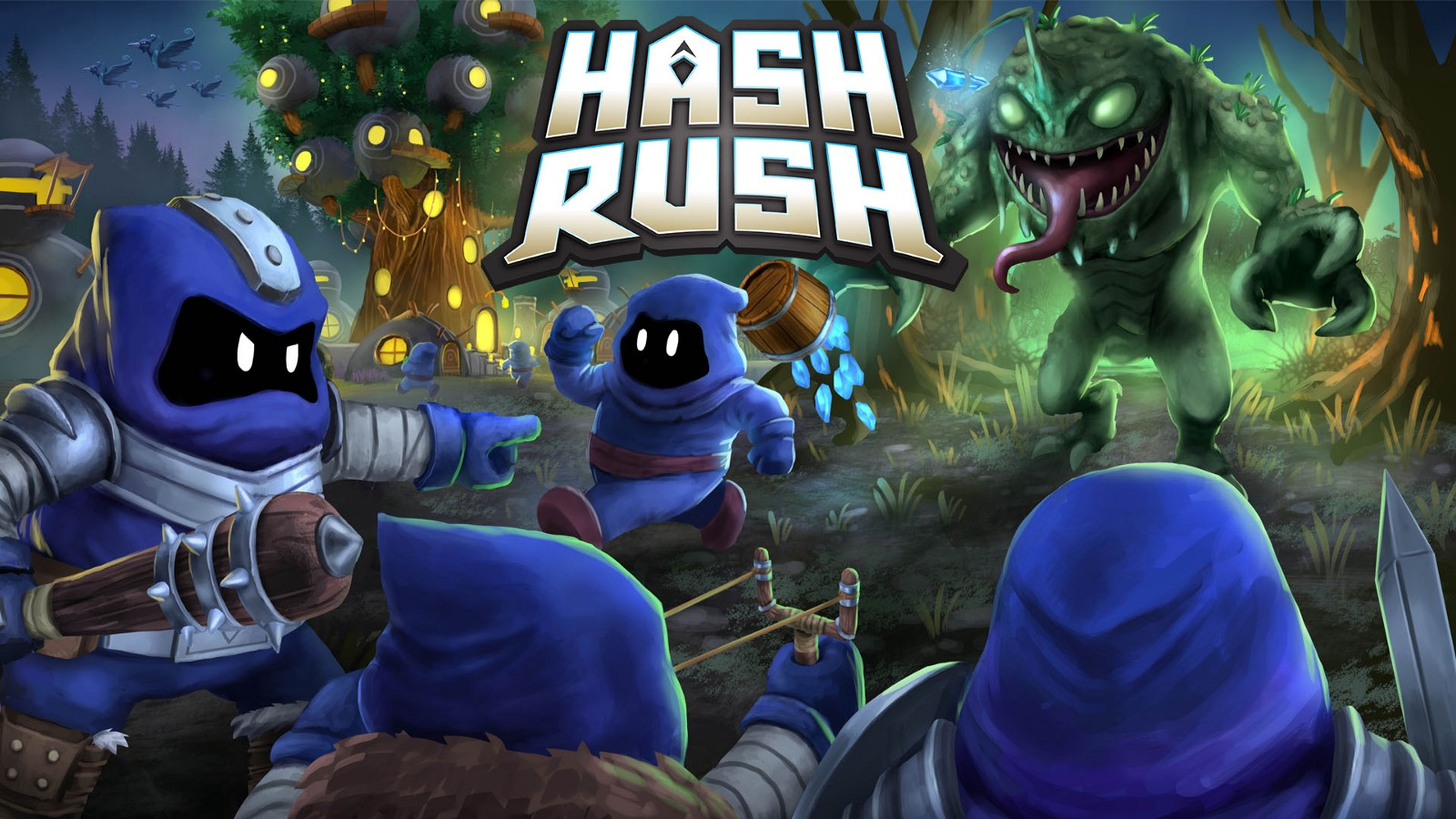 Hash Rush Blockchain Real Time Strategy