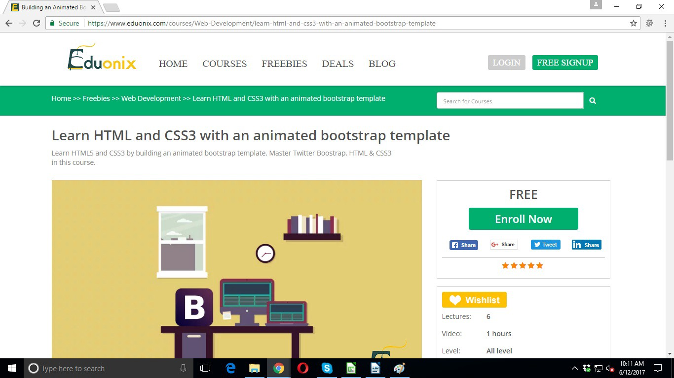 Master html with free courses by eduonix sam dias medium learn html and css3 with an animated bootstrap template maxwellsz