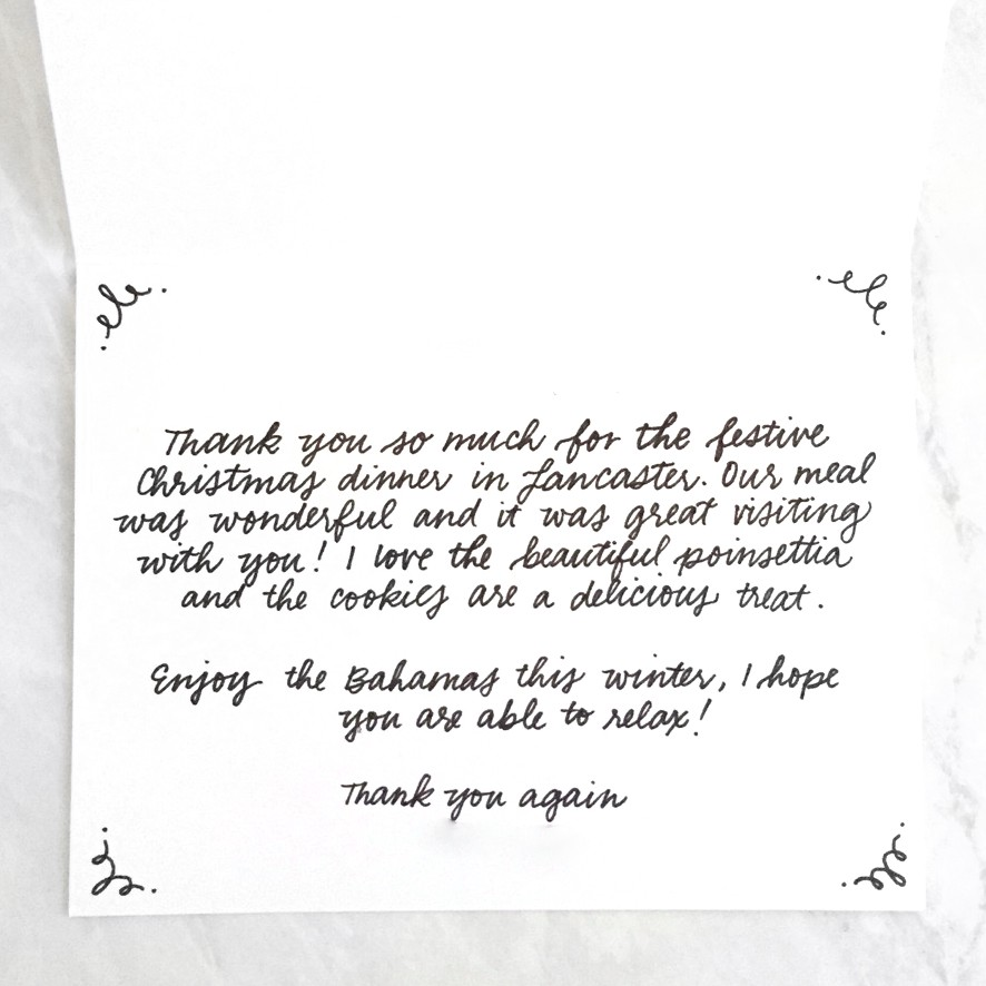 What To Write In Your Holiday Thank You Cards Punkpost Medium