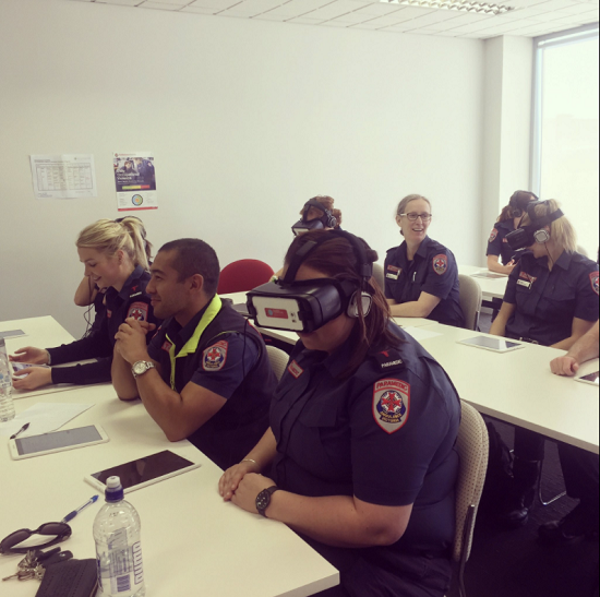 4ee5a914422d Victorian paramedics have announced they are going to use virtual reality  to help train front line staff. It will better protect them from violence  when ...